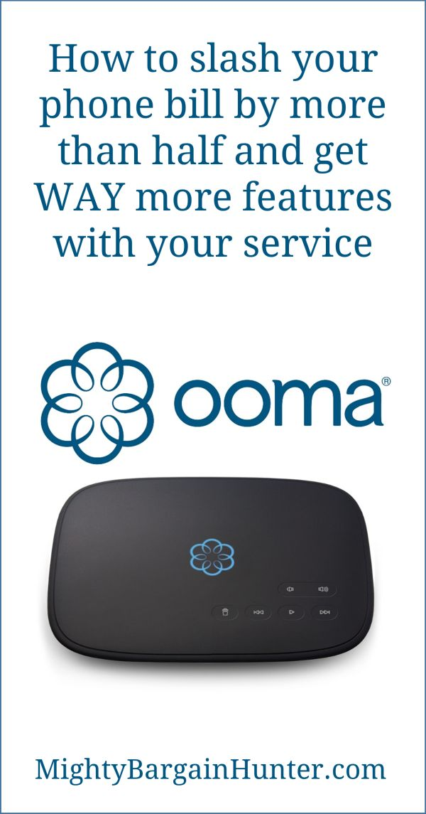 Use your cable internet to get a cheap phone bill with Ooma. We cut our phone bill in half, even with equipment purchase ...