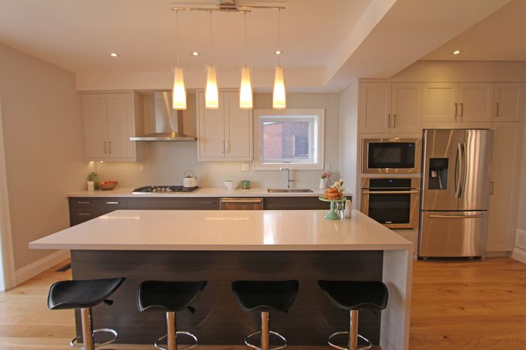 For sale, 563 St Clarens Ave, Toronto, real estate, Bloordale Village, 3 bedroom, 4 bathroom, home, cedar, brick, island, quartz, waterfall