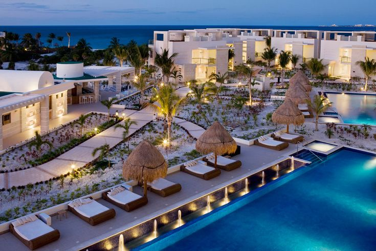 The Beloved Hotel, Playa Mujeres, Mexico.