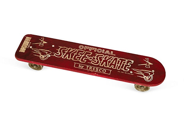 I had a skateboard just like this!