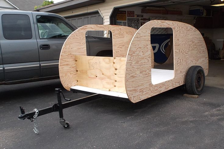 Build a teardrop in 133 pictures http://www.doityourselfrv.com/how-to-build-a-teardrop-camper-in-133-pictures/