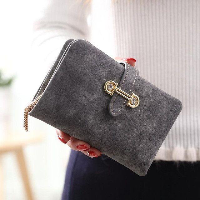 SUQI Female Students Ladies Wallet Purse Short Zipper Pendant Women Purse Female Wallet Pouch Portefeuille Femme