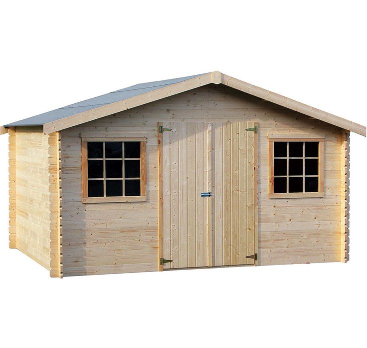 Garage bois castorama top porte garage en bois triple for Abri garage castorama