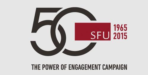 sfu 50th anniversary logo - Google Search