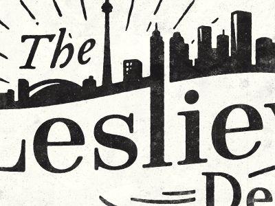 The Leslieville Designer logo