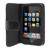 Folio Wallet Leather Case for Apple iPod Touch 3rd Generation - Black (Electronics)By Generic