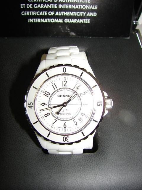 Chanel  J 12 Ladies Wrist Watch.
