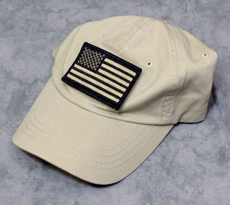Condor american flag patch adjustable tactical hat cap