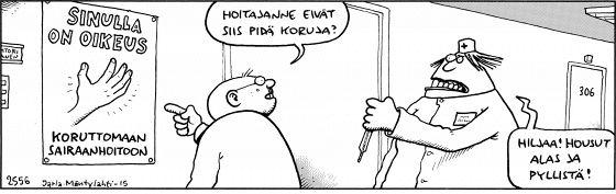 Fingerpori 3.7.2015 - Helsingin Sanomat