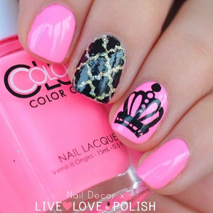 Moroccan Nail Stencils - Best 25+ Crown Nails Ideas Only On Pinterest Princess Nail Art