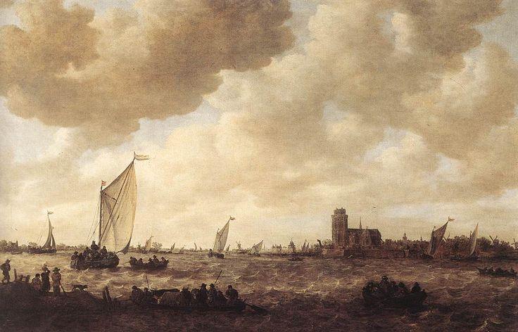 Jan van Goyen  View of Dordrecht