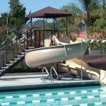 Home Pools with Slides