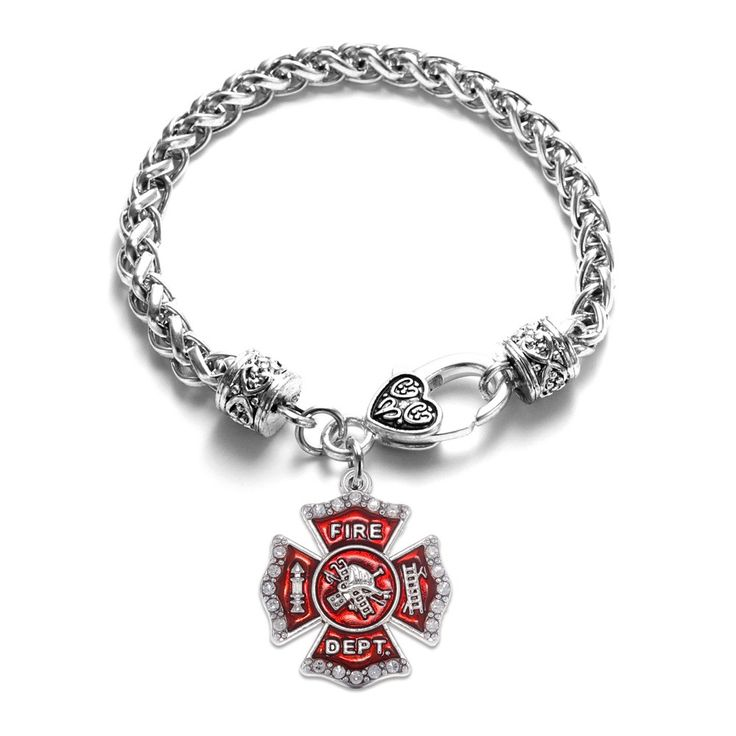 Firefighters Badge Classic Braided Bracelet