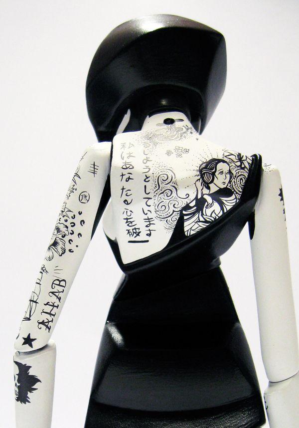 Customised SkullSkin by Jon-Paul Kaiser, via Behance