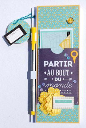 DIY : customiser un carnet à offrir. Une création de Natalia, de l'équipe créative Kesi'art. Retrouvez le tuto détaillé sur le blog !