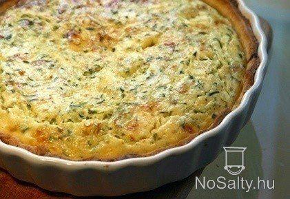 Cukkinis quiché (cukkinis francia pite) http://www.nosalty.hu/recept/cukkinis-quiche-cukkinis-francia-pite
