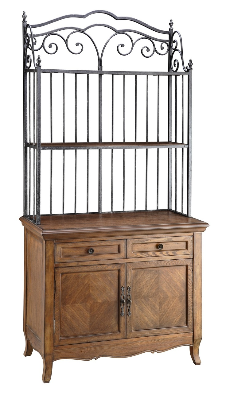 89 Best Estantes Images On Pinterest Wrought Iron Bakers Rack Decorating And Bakers Rack