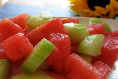 """""""Why Watermelon Makes Us Feel Good"""" from Snack-Girl! Watermelon is 0 Points Plus on Weight Watchers & I love it after a good run!"""