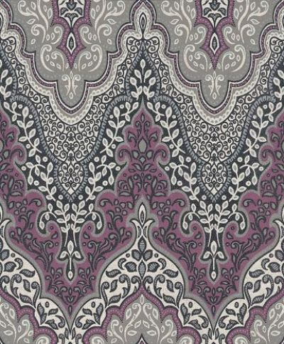Glitter damask 404746 albany wallpapers an indian for Wallpaper designs for bedroom indian