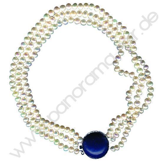 Жемчужное ожерелье с медальоном из жадеита