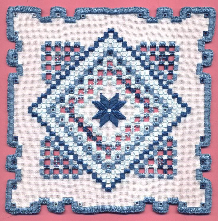 Hardanger Embroidery H137a | Flickr - Photo Sharing!
