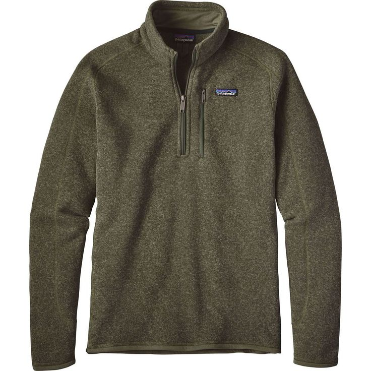 Patagonia - 1/4-Zip Better Sweater  - Men's - Industrial Green