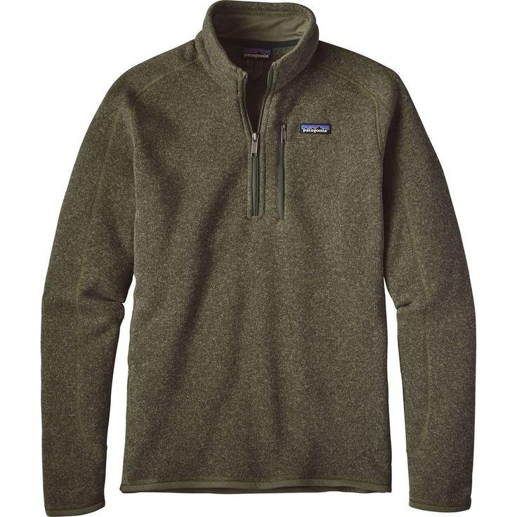 Patagonia - 1/4-Zip Better Sweater  - Men's - Industrial Green