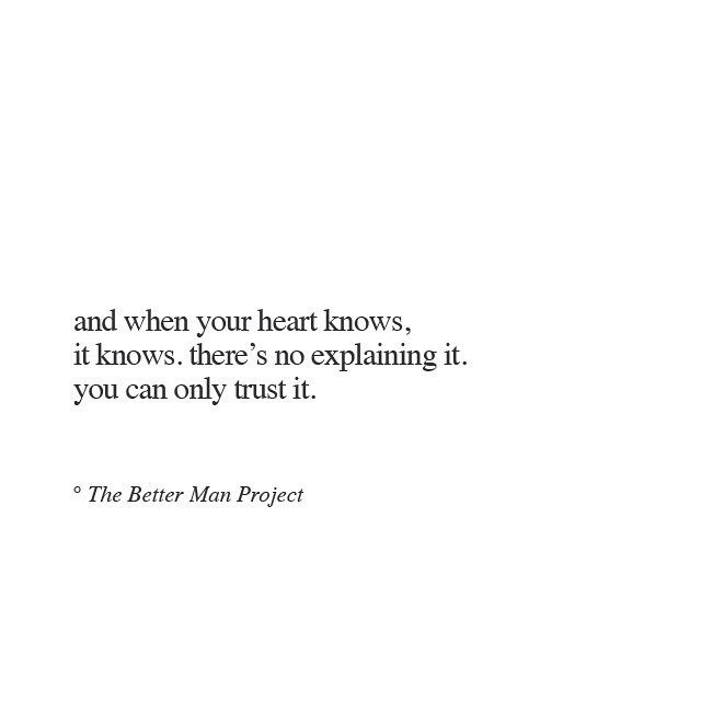 and when the heart knows #quote #quotes