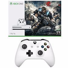 Xbox One S 1TB Console Gears of War 4 Bundle xBox One S White controller(Extra) #LavaHot http://www.lavahotdeals.com/us/cheap/xbox-1tb-console-gears-war-4-bundle-xbox/180864?utm_source=pinterest&utm_medium=rss&utm_campaign=at_lavahotdealsus
