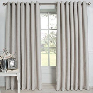Briscoes - Classic Living Leave Eyelet Curtain Each