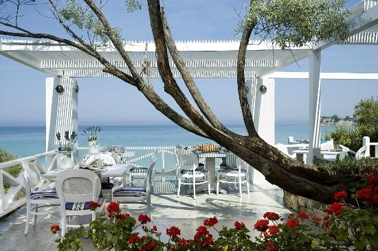 Ouzeri has a stunning view of the sea and authentic and delightful greek food. ($$ Dinner in Macedonia)