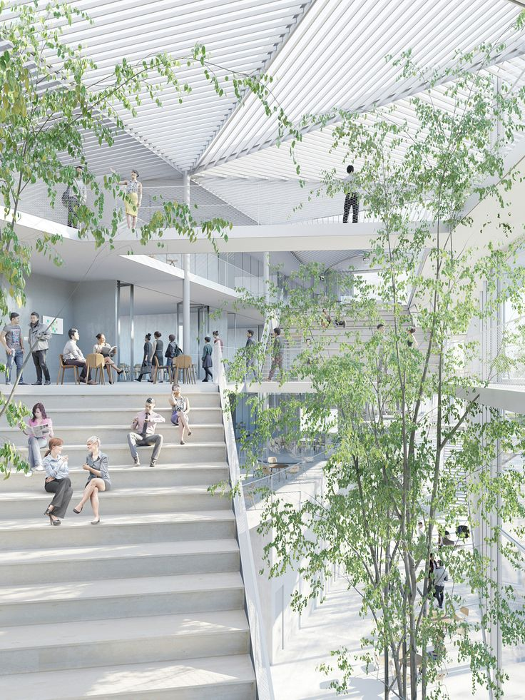 Gallery - Sou Fujimoto-Led Team Selected to Design Ecole Polytechnique Learning Centre in Paris - 3
