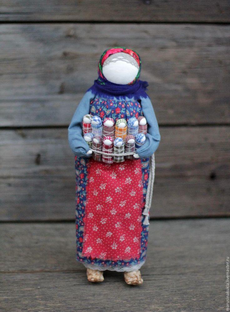 """Купить Кукла """"Урожай"""" - разноцветный, традиционная кукла, традиция, народная кукла, оберег, оберег для семьи"""