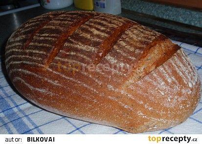 Bramborovo-pšenično-žitný chleba / kváskový / recept - TopRecepty.cz