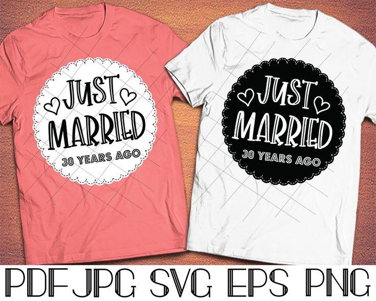 30th wedding anniversary shirts svg30 year anniversary