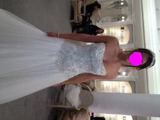 I SAID YES TO THE DRESS!! I'm a Kleinfeld's bride :-D (PICS INCLUDED!) :  wedding dress kleinfelds perla d pnina tornai Dress