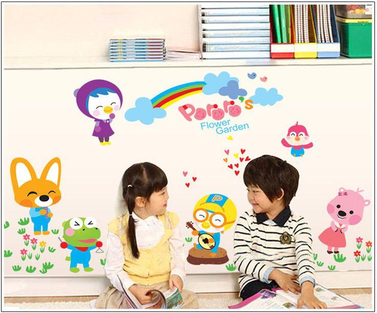 Животных Зоопарка Животных рай Западная Kid Room Decor Наклейки Виниловые Росписи искусства Детская и детская комната 3d Стены Стикеры Бесплатно доставка