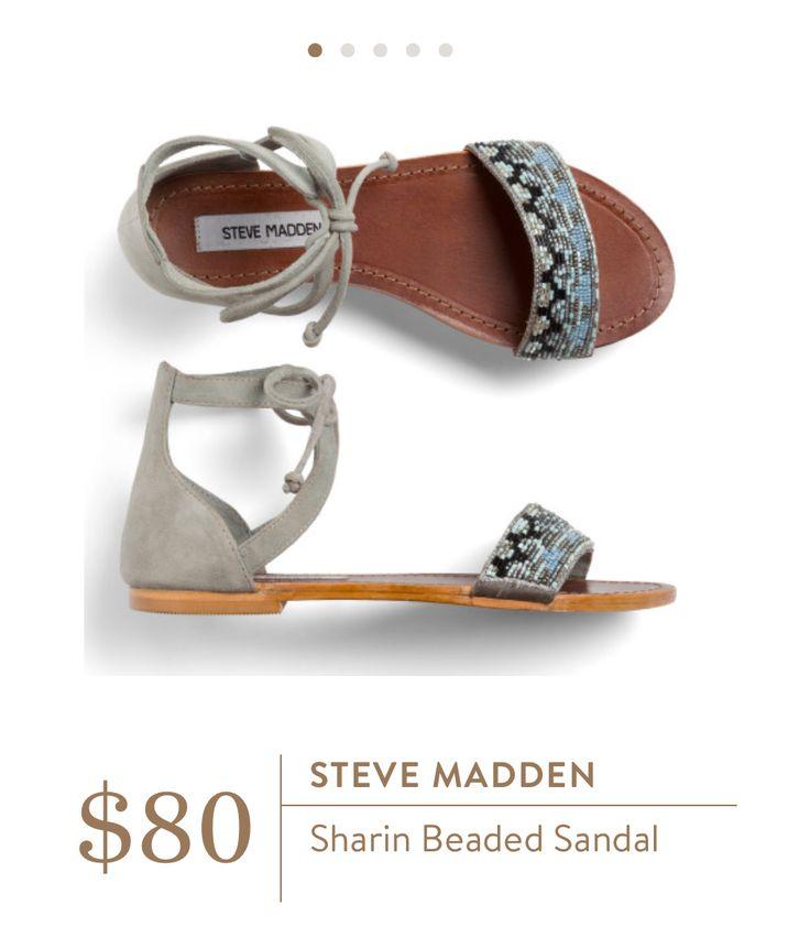 Steve Madden: Sharin Beaded Sandal