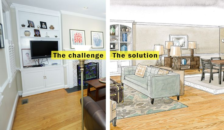 How to downsize to a smaller, more urban living room