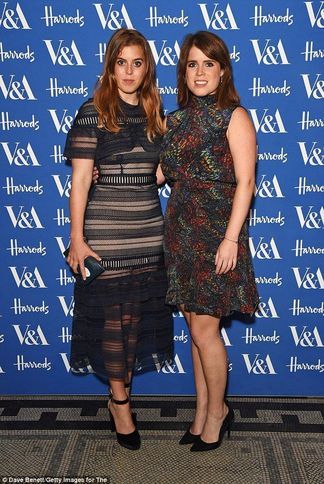Princess Beatrice and her sister Eugenie led the best dressed at the V&A summer party in t...