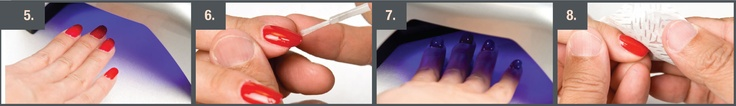 Step by Step Gel Nail Application