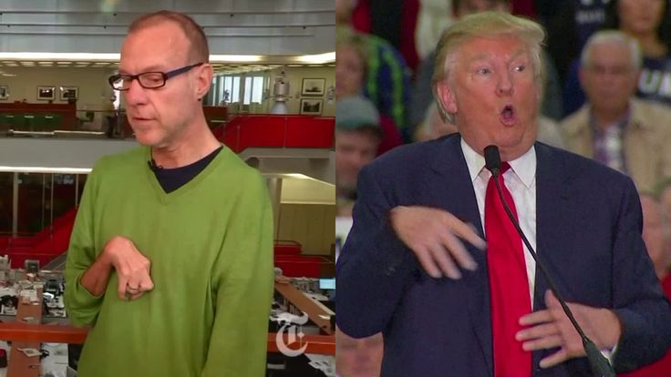Trump Mocks Reporter's Disability, Claims They Never Met. Met Him 12 Times
