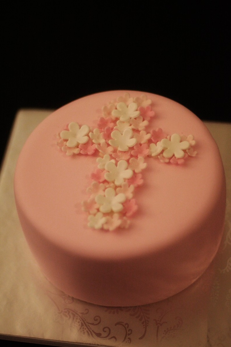 Fondant Flowers with Sparkle for Cupcakes, Cookies or Cake Decoration Perfect for Birthdays or Baptisms. $26.00, via Etsy.
