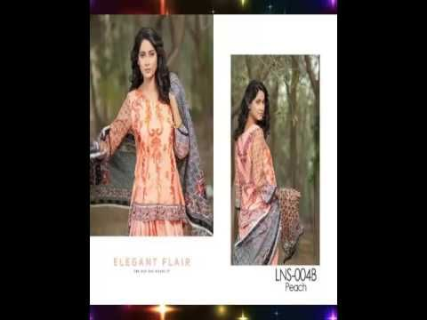 LALA Designer Net Embroidered 2017 Eid Collection