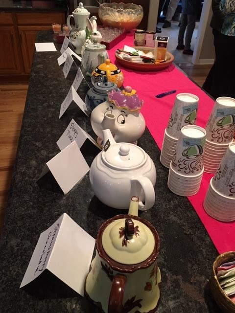 May Day Tea (e) - Every imaginable tea in every possible tea pot!