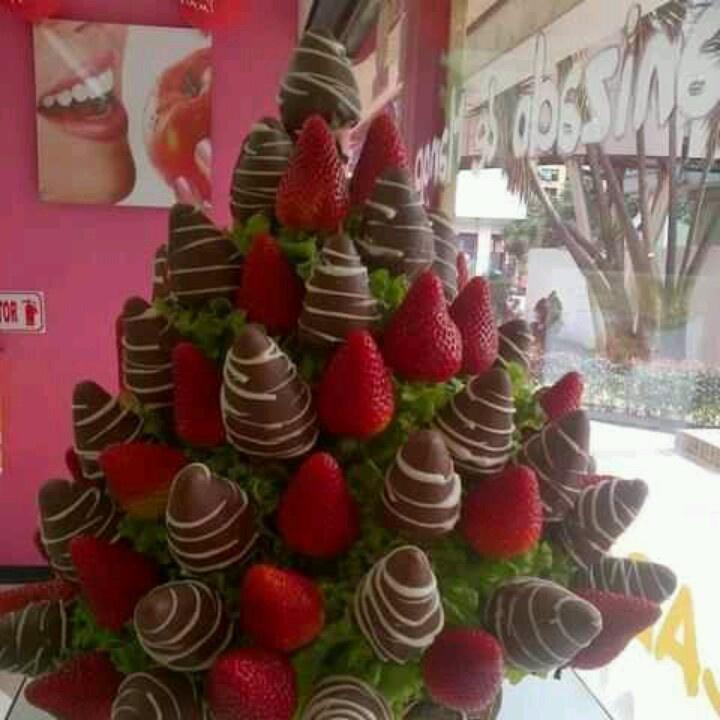 Sweet Strawberry bouquet!!