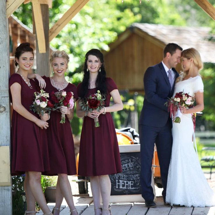 Ivy dress in a stunning Plum is a year-round fashion essential!!! Modest Dresses/ Modest Church Dress/ Modest Bridesmaid Dresses/ Red Dress/ Modest Red Dress/ Summer Dress/ Modest Fashion/ Modest Clothing #sierrabrookeclothing