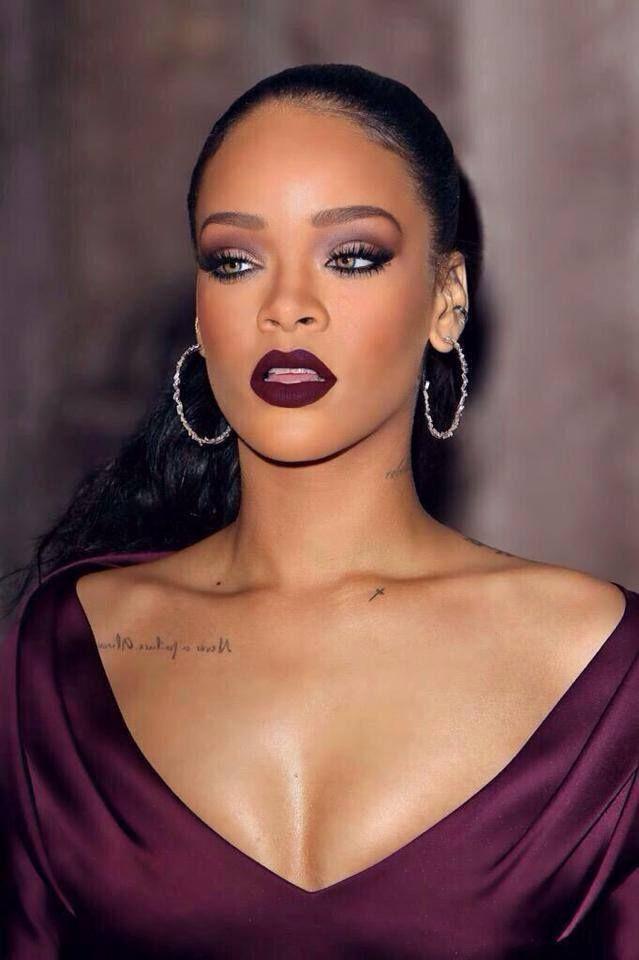 """La tendance """"dark lipstick"""" , rouge à lèvres foncé"""