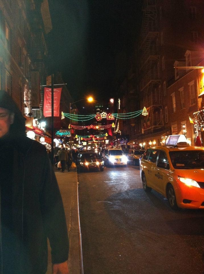 Little Italy (NYC) at Christmas