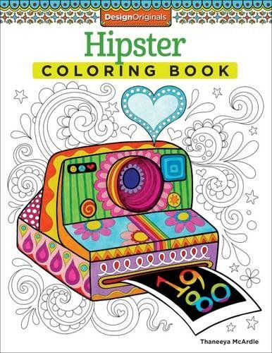 Fishpond New Zealand Hipster Coloring Book Is Fun By Thaneeya McArdle Buy Books Online ISBN